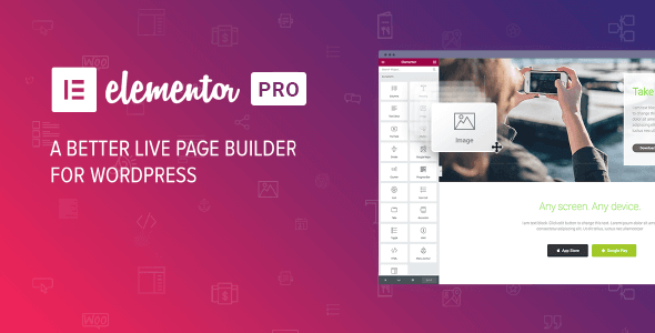 Elementor Pro 3.4.2 & Core 3.4.5 – Best Live Page Builder For WordPress by Indian GPL