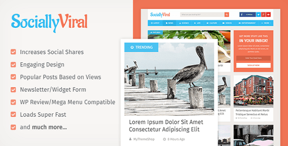 SociallyViral Pro 2.4.8 WordPress Viral Theme - License key Activated by Indian GPL