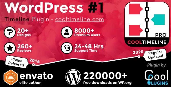 Cool Timeline Pro 4.0.3 - WordPress Timeline Plugin by Indian GPL